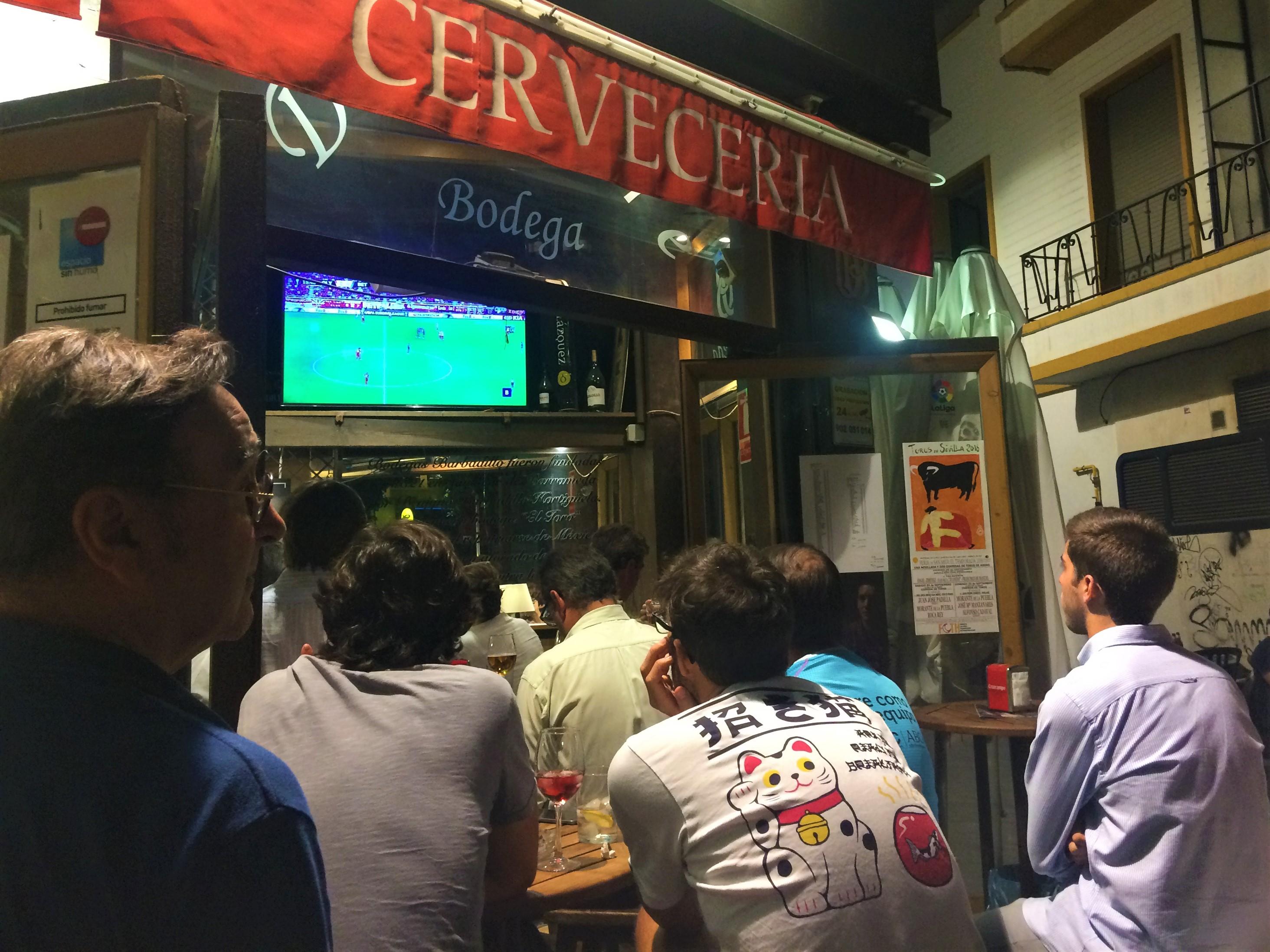tapas i Sevilla