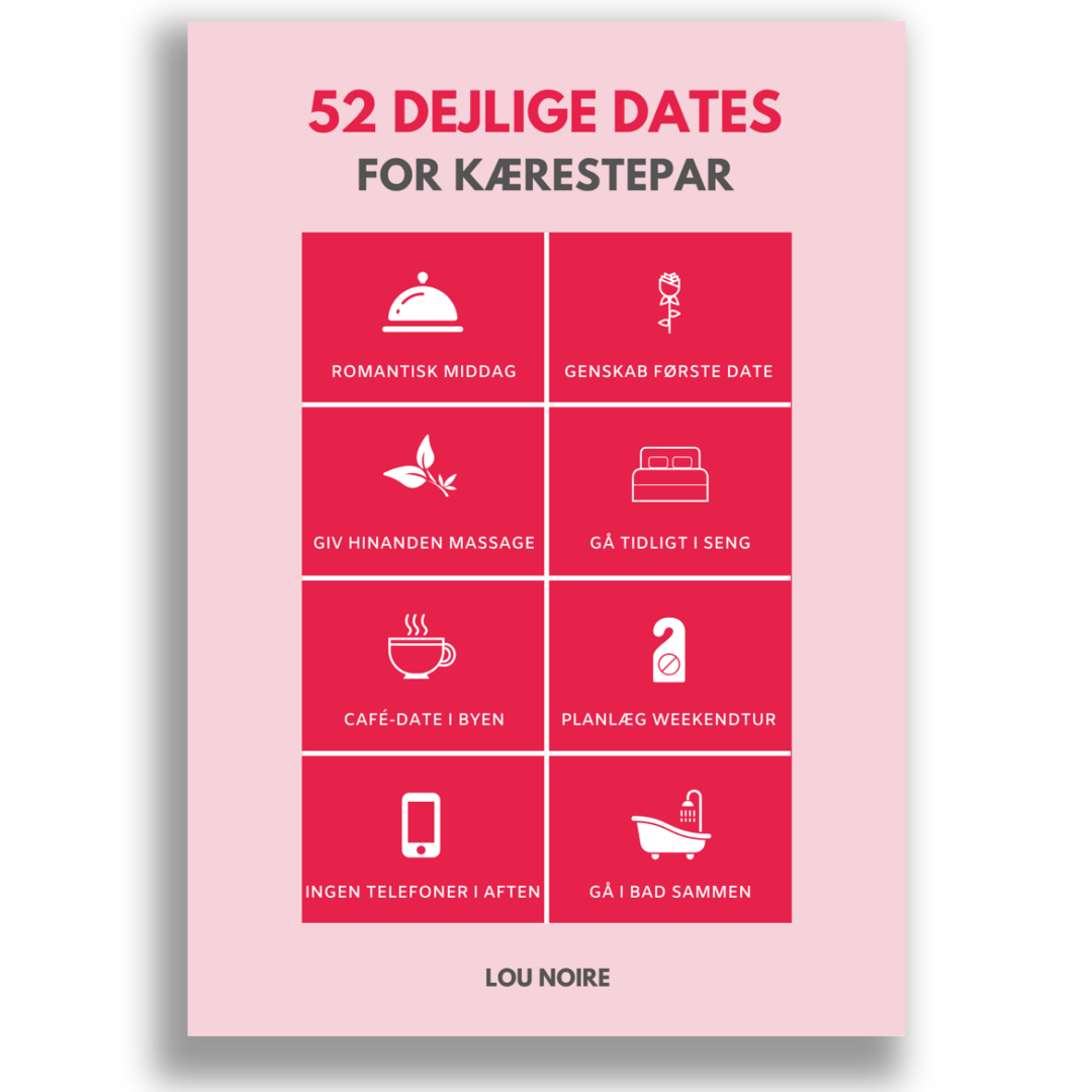 52 dejlige dates for kærestepar - Cover