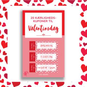 Kærlighedskuponer til Valentinsdag