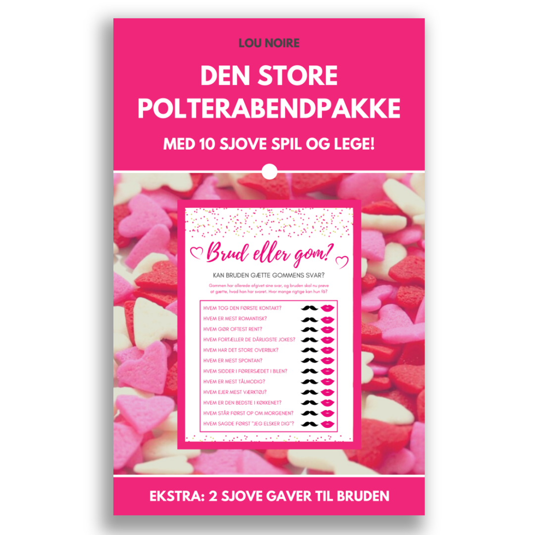 Den store polterabendpakke - cover