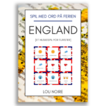 Spil med ord på ferien - England