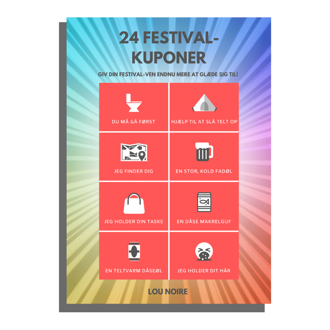 24 Festival-kuponer - Lou Noire - cover