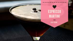 Den bedste opskrift på Espresso Martini