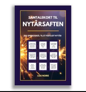 Samtalekort til nytårsaften - cover