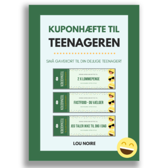 Kuponhæfte til teenageren - grøn - cover