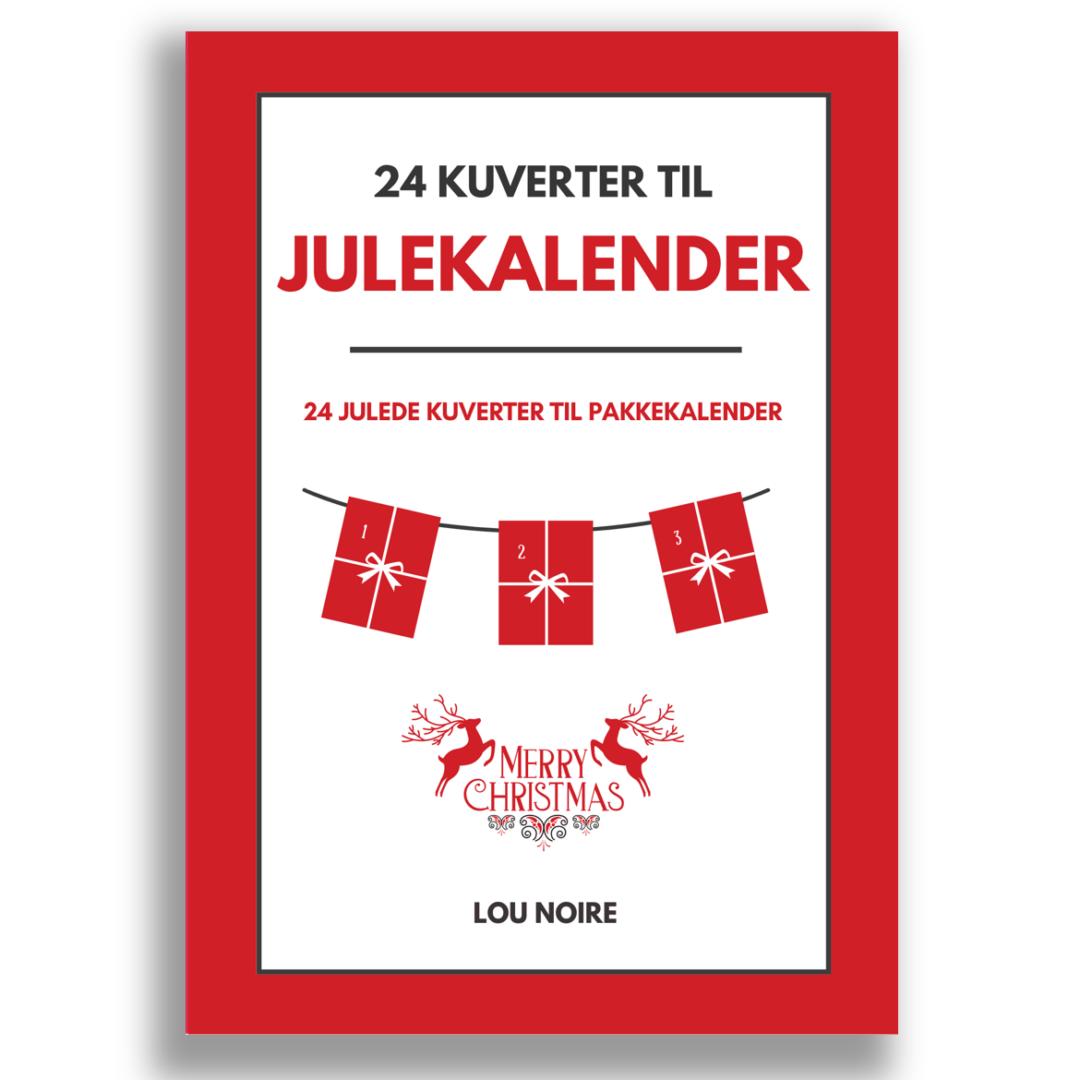 24 kuverter til julekalender - cover