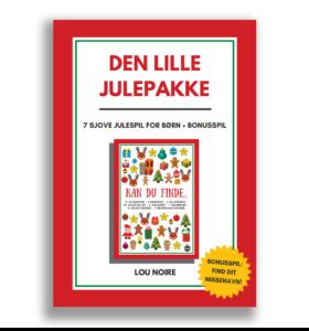 Den lille julepakke - Cover - Lou Noire