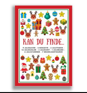 Den lille julepakke - Kan du finde - Lou Noire