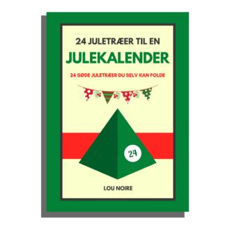 24 juletræer til en julekalender - cover