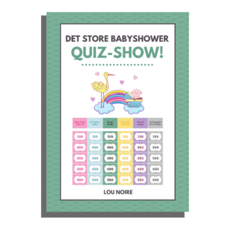 Det Store Babyshower Quiz Show - cover