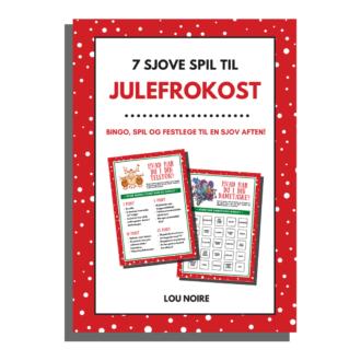 7 sjove spil til julefrokost - cover