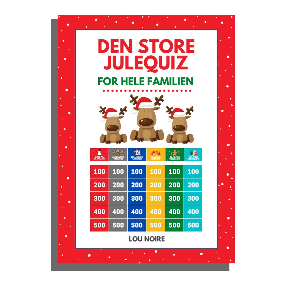 Den Store Julequiz - cover