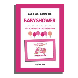 Gæt og grin til babyshower - cover