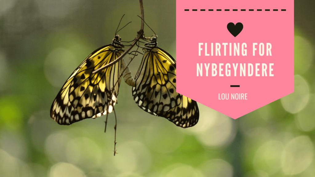 hvordan flirter en mand