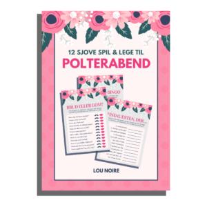 12 sjove spil og lege til polterabend - Lou Noire - cover