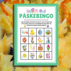 Påskebingo - Lou Noire - bingoplade