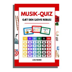 Musik-quiz - gæt den sjove rebus! - Lou Noire - cover